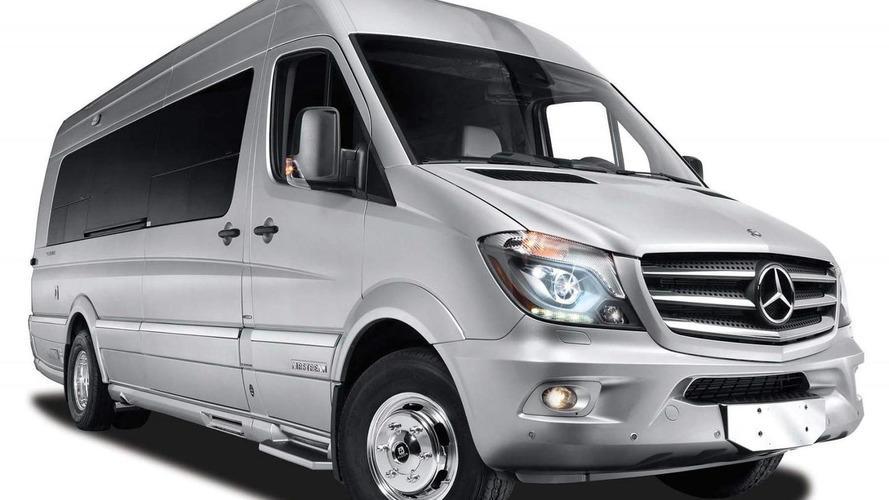 Mercedes & Airstream introduce the Autobahn luxury van