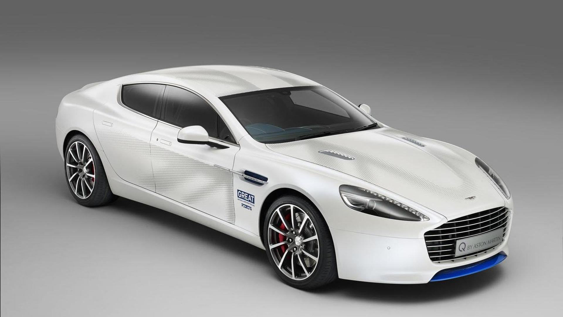 Aston Martin Introduces A One Off Rapide S To Promote The Great Britain Campaign