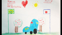 Nissan Brazil kid's design contest