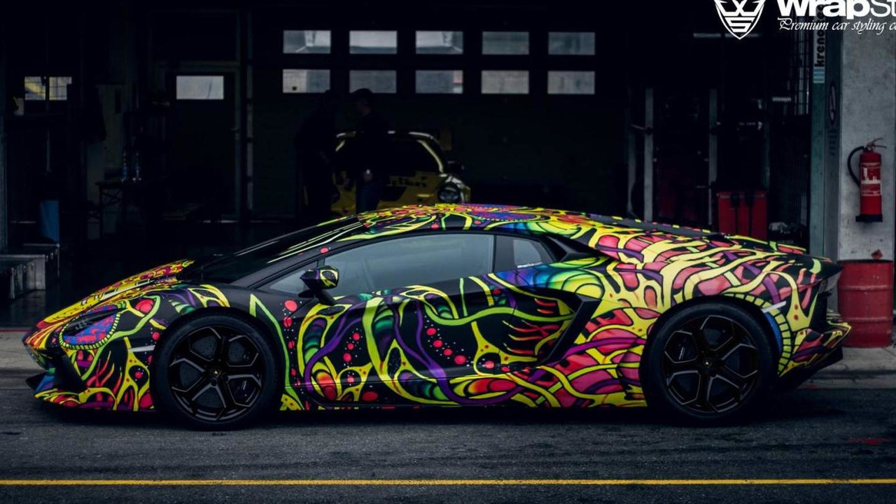 Lamborghini Aventador Wrapped By Wrapstyle Martin Cyprian