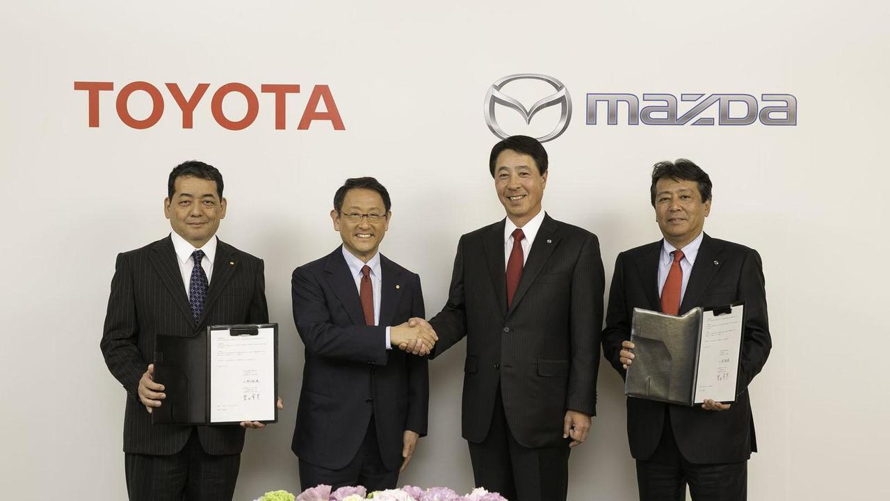 Toyota Mazda Partnership