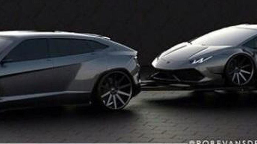 Future Lamborghini SUV rendered, could actually happen in 2017
