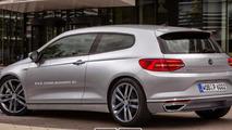Volkswagen Scirocco rendering / X-Tomi Design