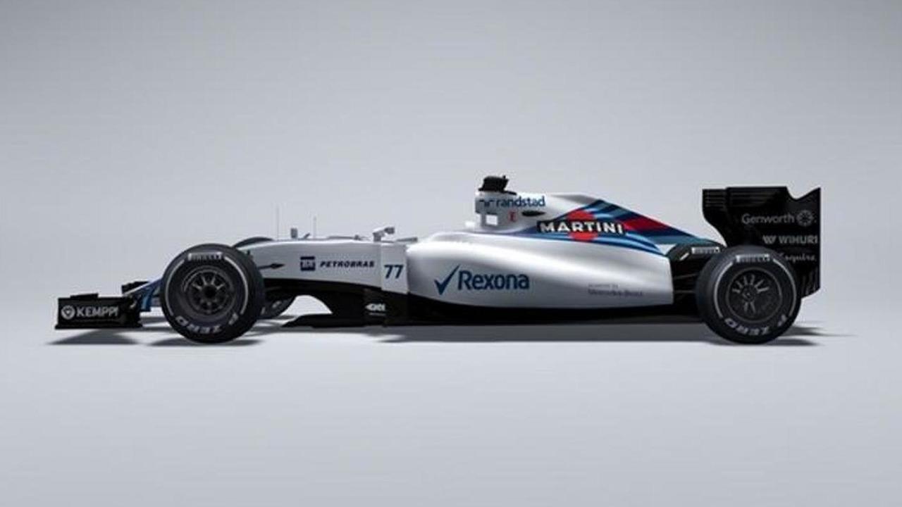 Williams Mercedes FW37 race car