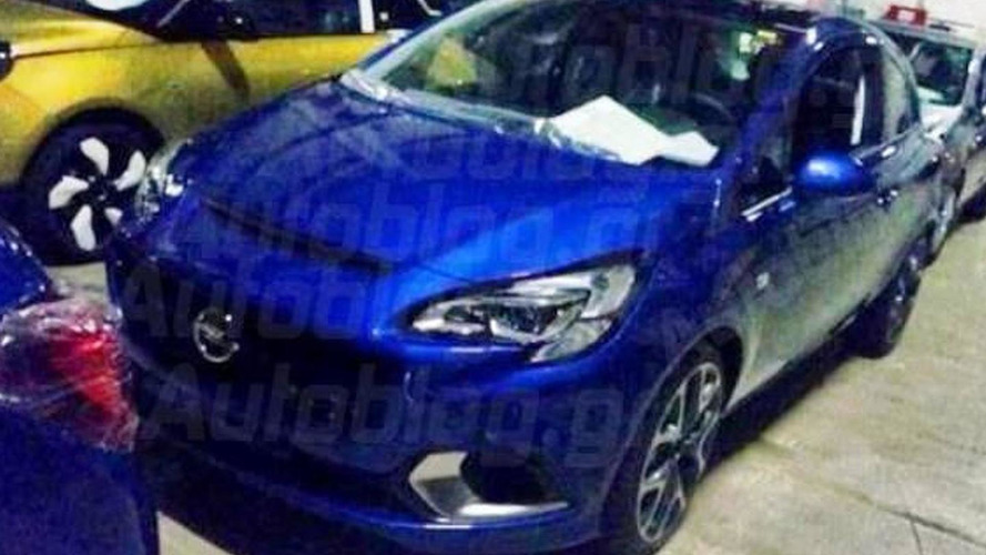 2015 Opel Corsa OPC spotted without disguise