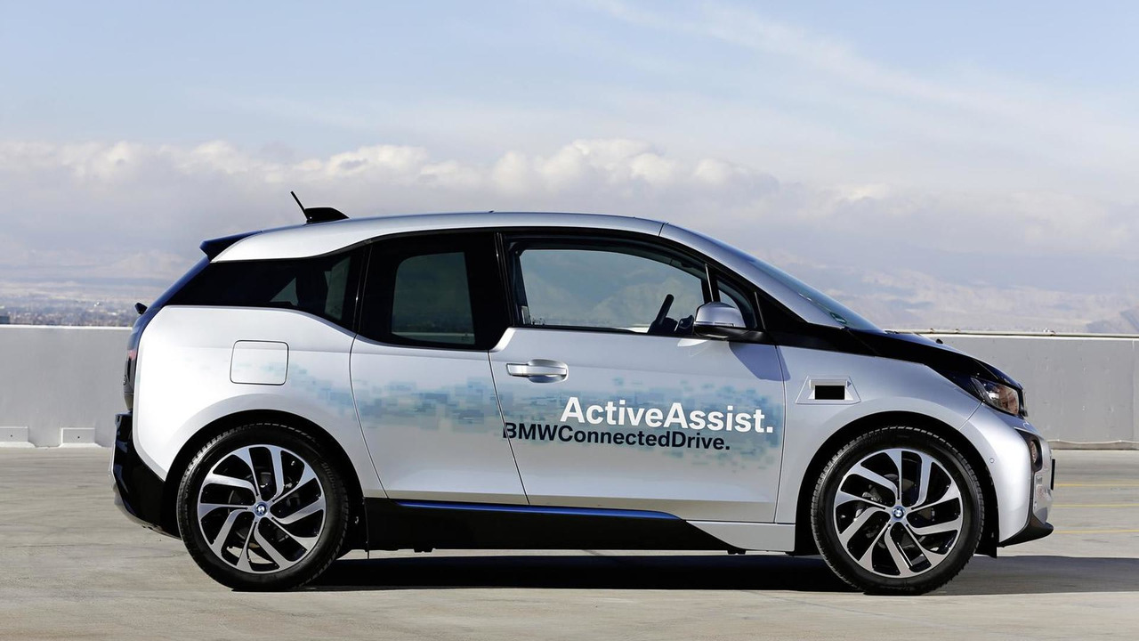 BMW I3 With Self Parking And Collision Avoidance Systems