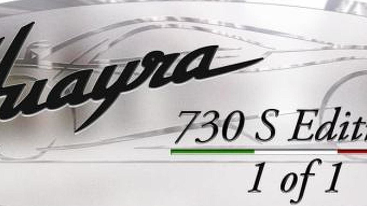 Pagani Huayra 730 S