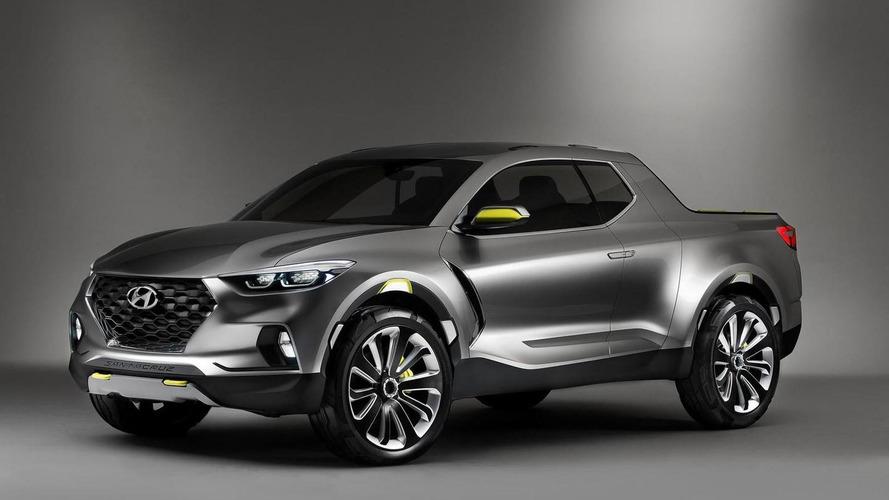 Picape Hyundai Santa Cruz de produção será diferente do conceito