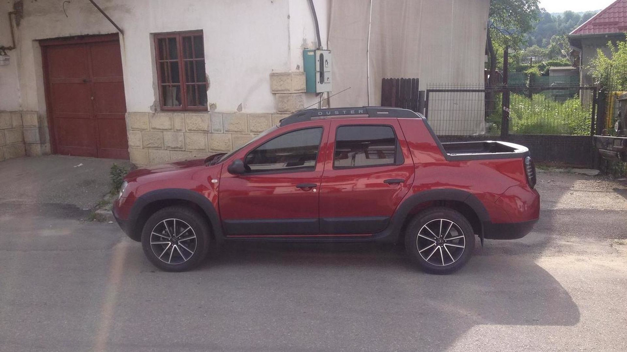 Dacia Duster Double Cab Pickup Spotted Again Is Not A
