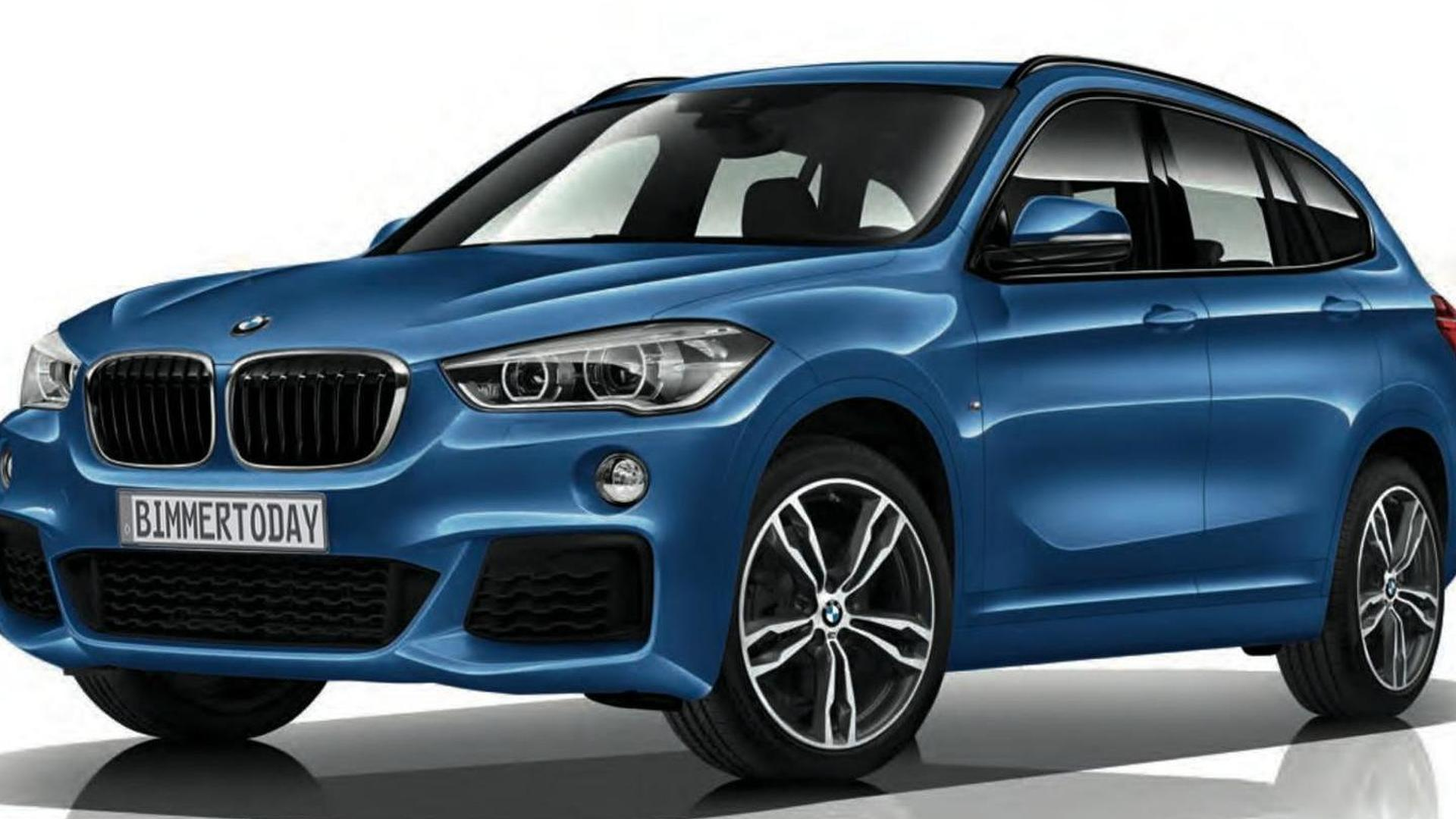 Bmw Dresses Up Second Generation X1 With M Sport Package