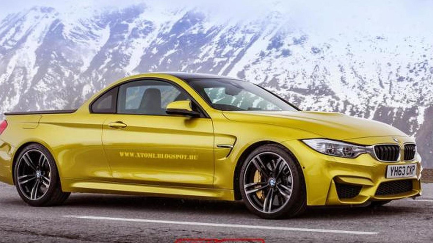 BMW M4 rendered as a 431 HP pickup