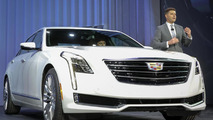 Cadillac CT6 live in New York