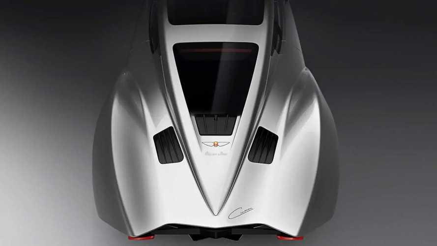 Hispano Suiza Carmen Electric Comes Packing 1,005 HP
