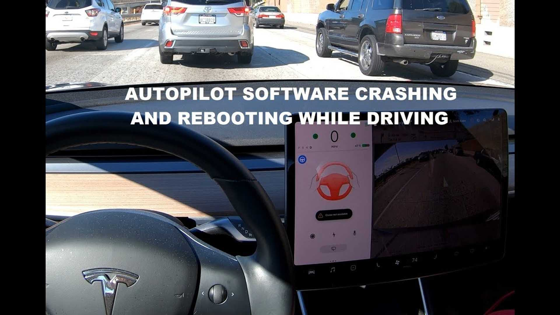 Tesla Autopilot Software Crash While Driving: What You Need To Know