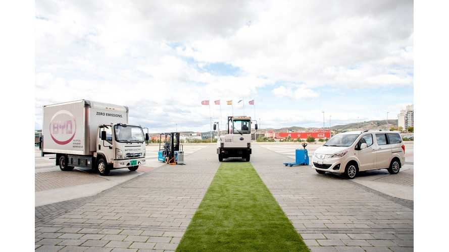 BYD Brings Electric Trucks And Van To Europe