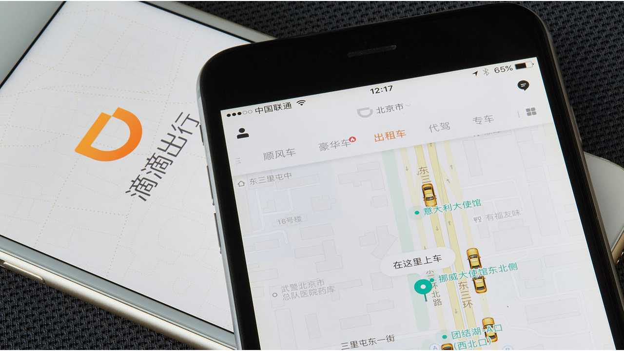 China's Didi Teams Up To Get 10 Million EVs On Road By 2028
