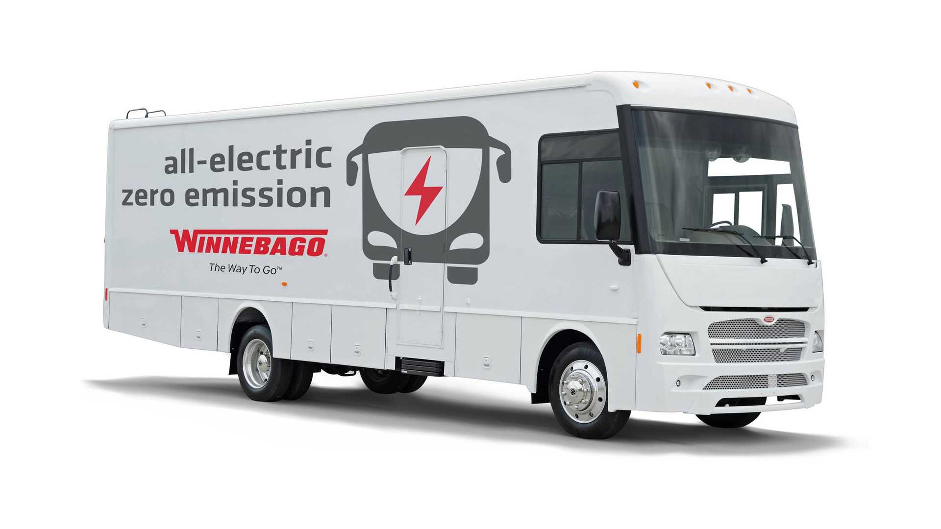 Winnebago Unveils Electric RV Motorhome, But It's Not For