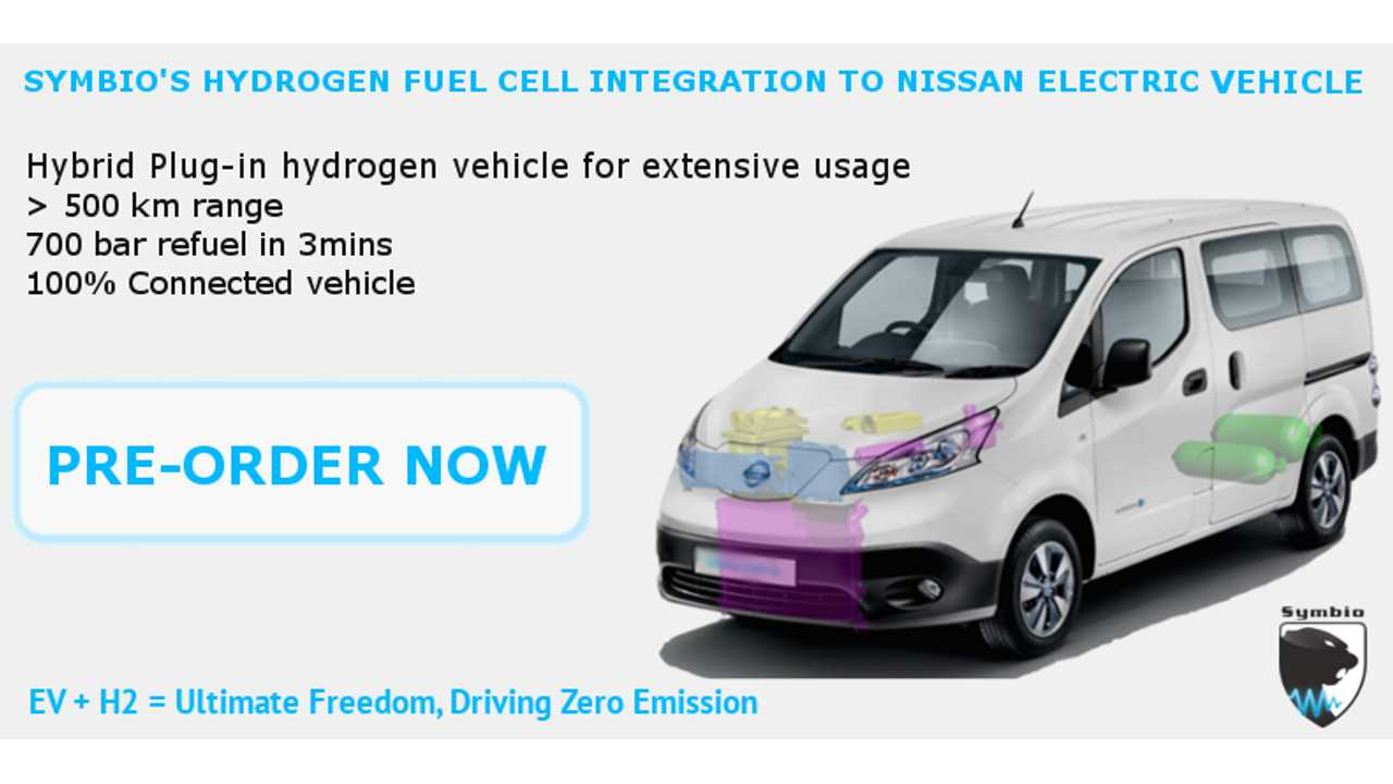 Nissan e-NV200 Plug-In Fuel Cell Van Aims To Take Over Europe's Taxi Market