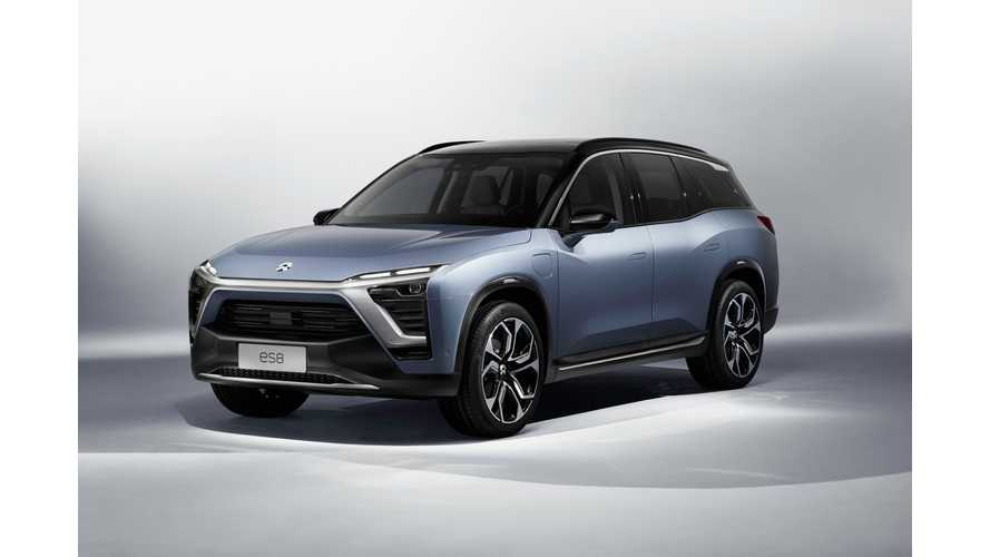 NIO Signs ES8 Electric SUV-Related Deal With Supplier Continental