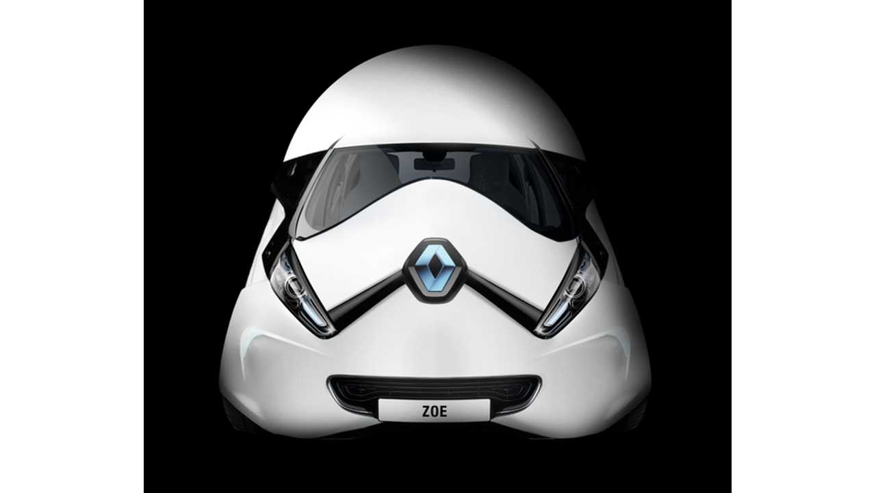 The Force Awakens With Renault ZOE Star Wars Edition