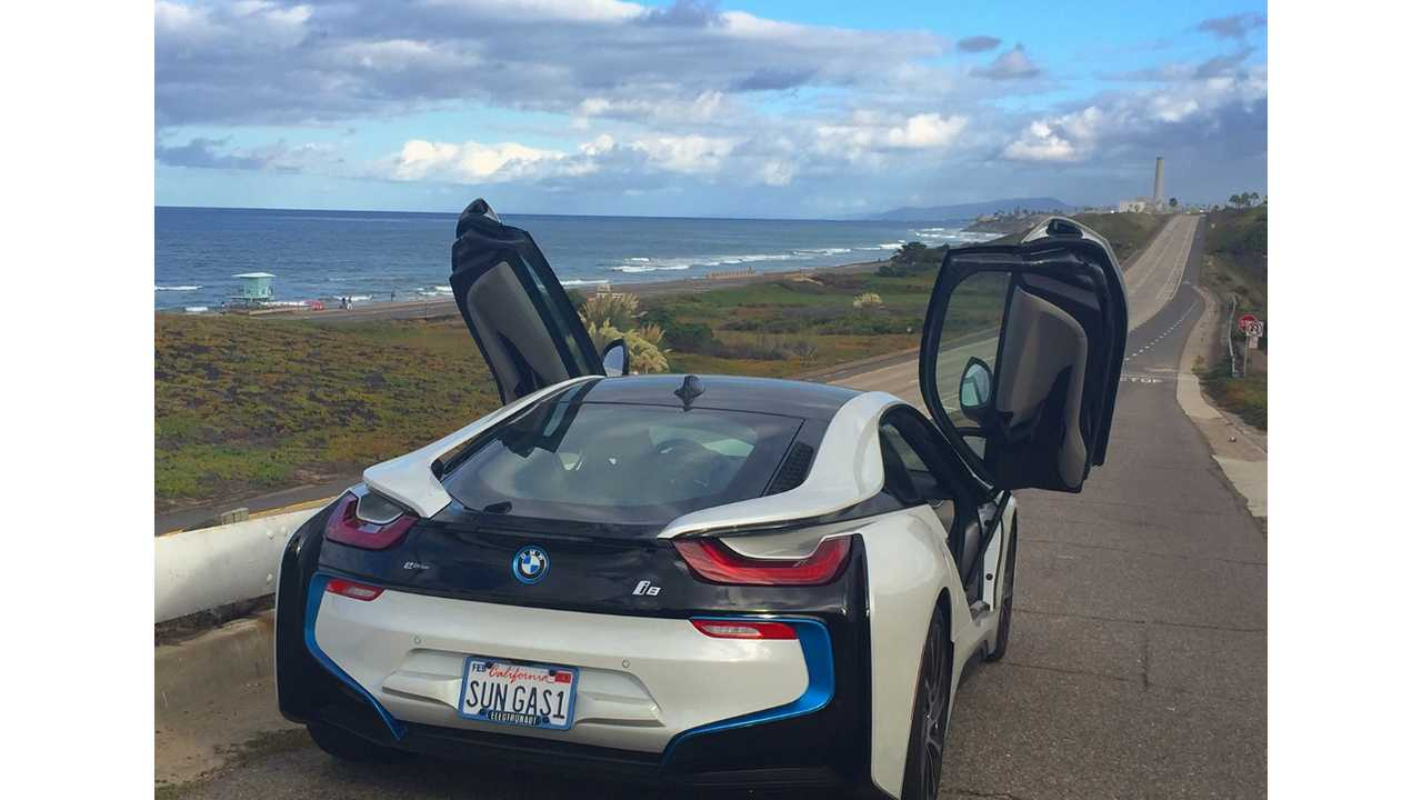 100+ MPG In Our BMW i8