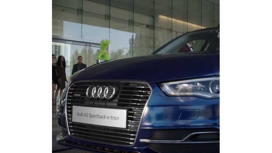 Audi A3 e-tron Makes Appearance In Muppets Commercial