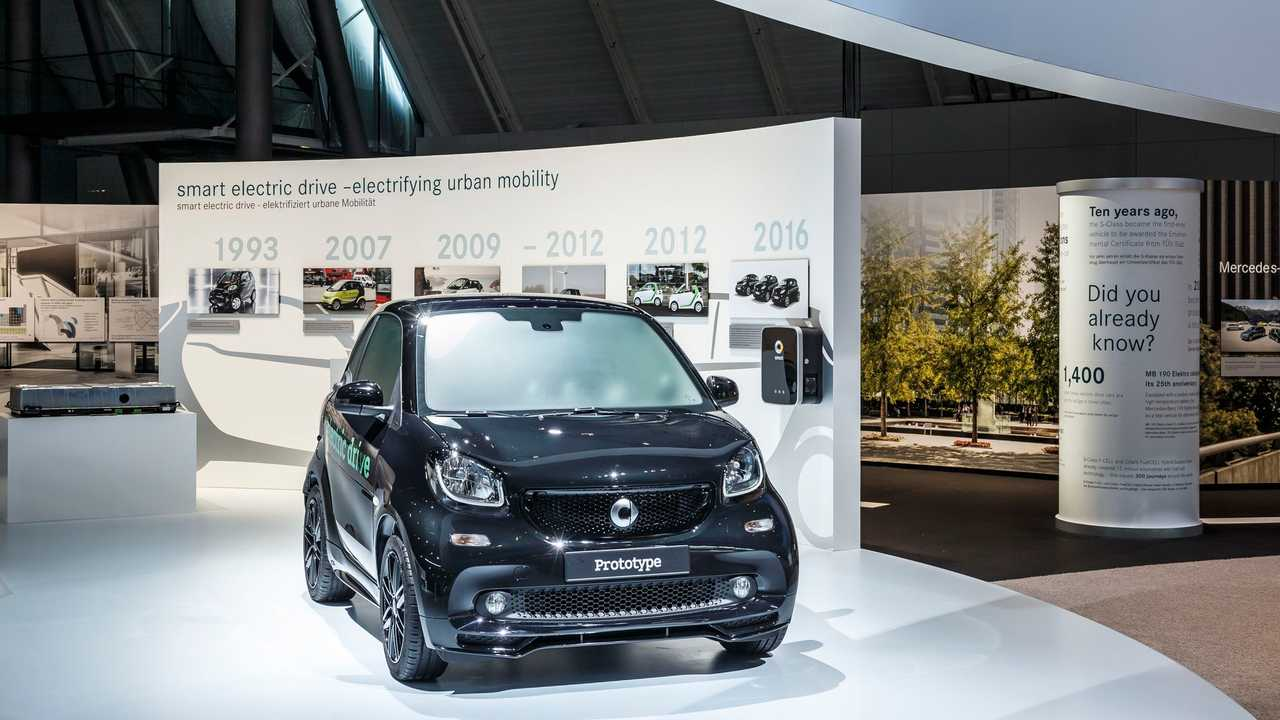 Daimler Presents Prototype Of The New Smart EV, Launches Late 2016