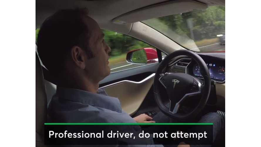 "Consumer Reports On Tesla Autopilot 8.0 - ""Better But Needs Improvement"" - Video"