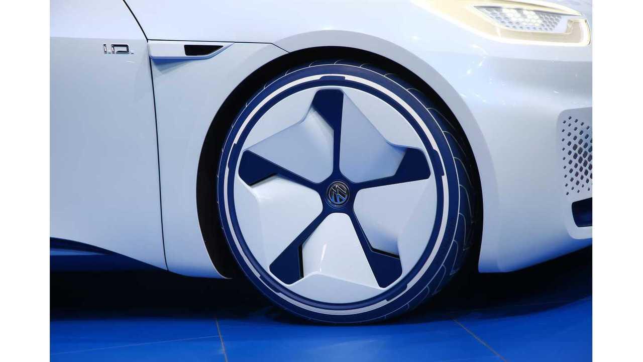 Volkswagen I D  At The Paris Motor Show - Photos &