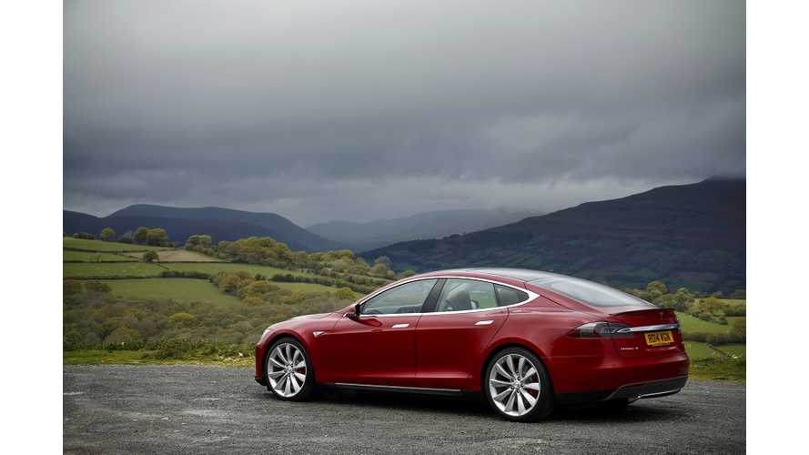 Ordinary Guys Go Road-Tripping In Tesla Model S P85+ - Video