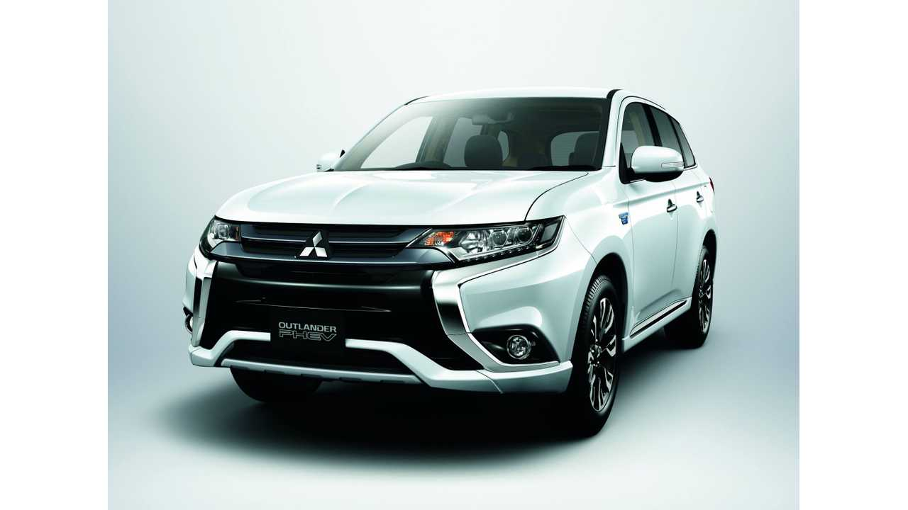 Mitsubishi Outlander PHEV To Finally Launch In U.S. Next October (Update)