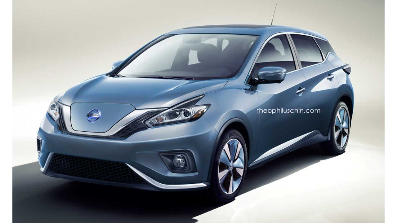 Next-Generation Nissan LEAF Rendered
