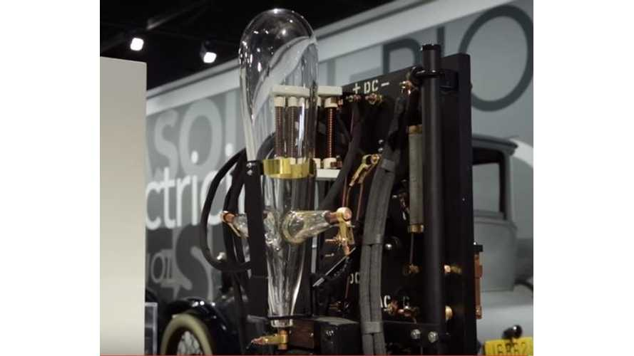 American Restoration Restores Vintage Blown Glass Electric Car Charger - Video
