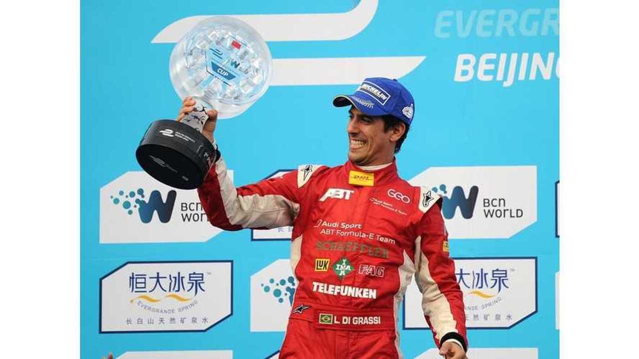 Di Grassi Wins Inaugural Formula E Race (Crash Videos + Complete Race Video)