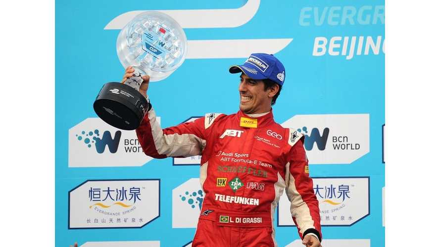 Di Grassi Wins Inaugural Formula E Race (Crash Videos + Complete Race Video)