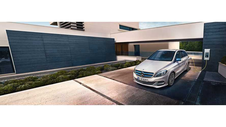 Mercedes-Benz Takes 2015 B-Class Electric Drive For A Spin - Video