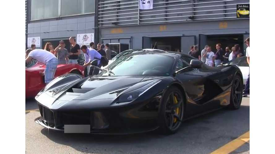 Turns Out Ferrari LaFerrari Can Operate In Electric-Only Mode - Video