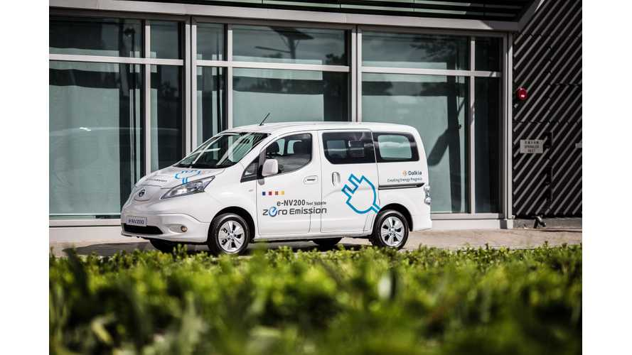 Hong Kong District Cooling Starts Field Tests Of Nissan e-NV200