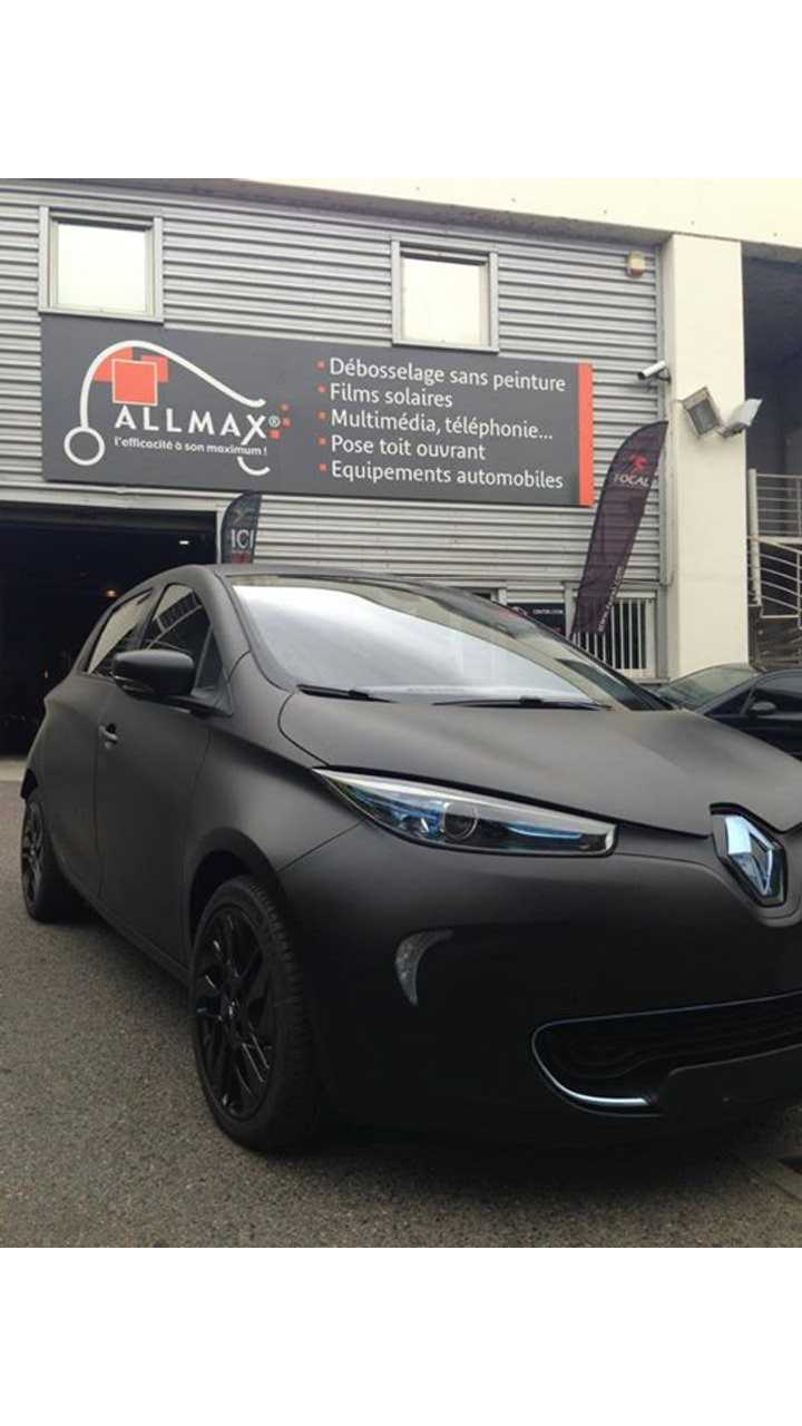 Spotted: Renault Bat-ZOE
