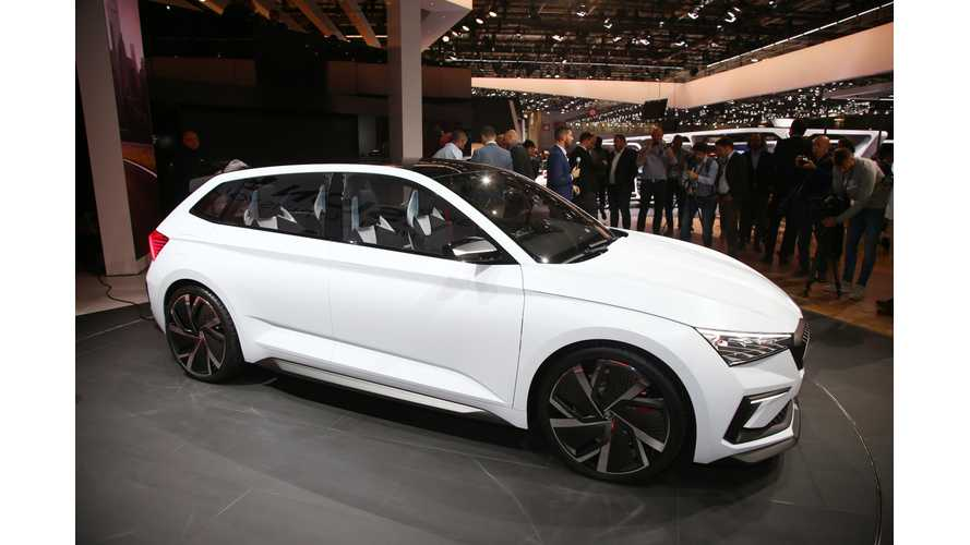 Skoda Vision RS Concept: Paris Videos Galore