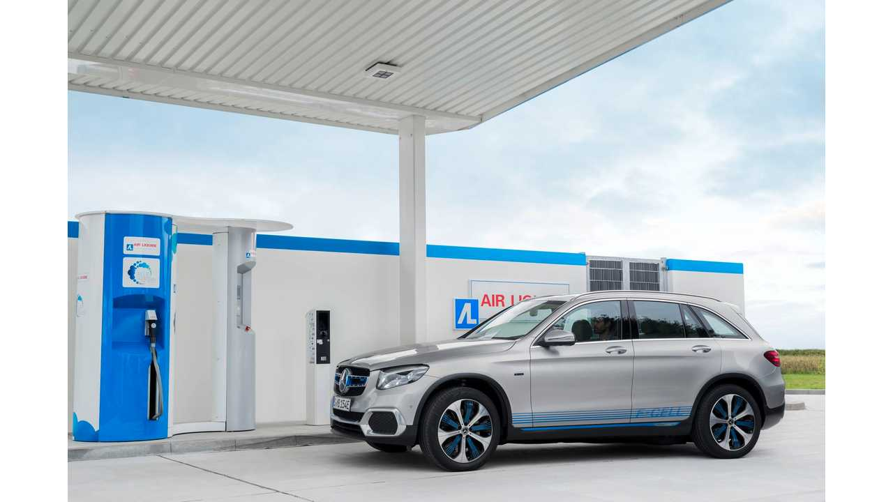 Mercedes-Benz GLC F-CELL Combines Fuel Cell With Plug-In Capability