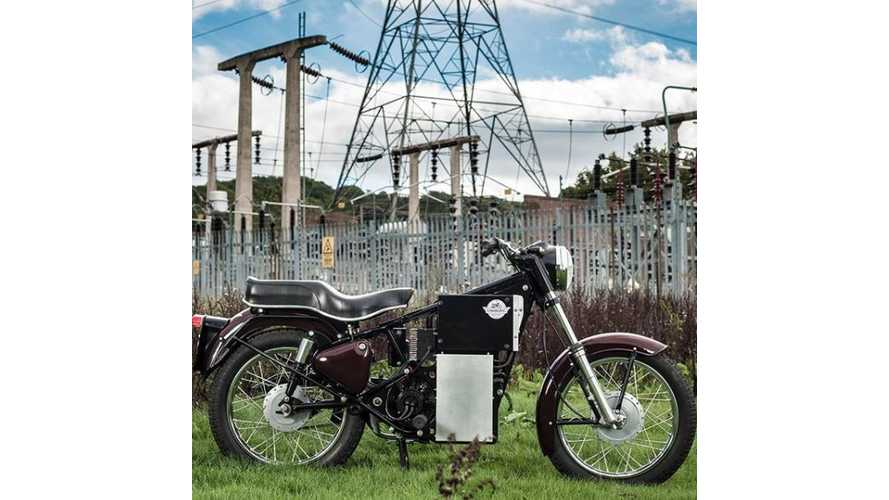Charging Bullet: Electric Royal Enfield That Will Go the Mile