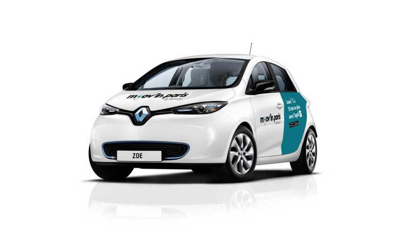 Renault & ADA Launch Moov'in.Paris Car Sharing