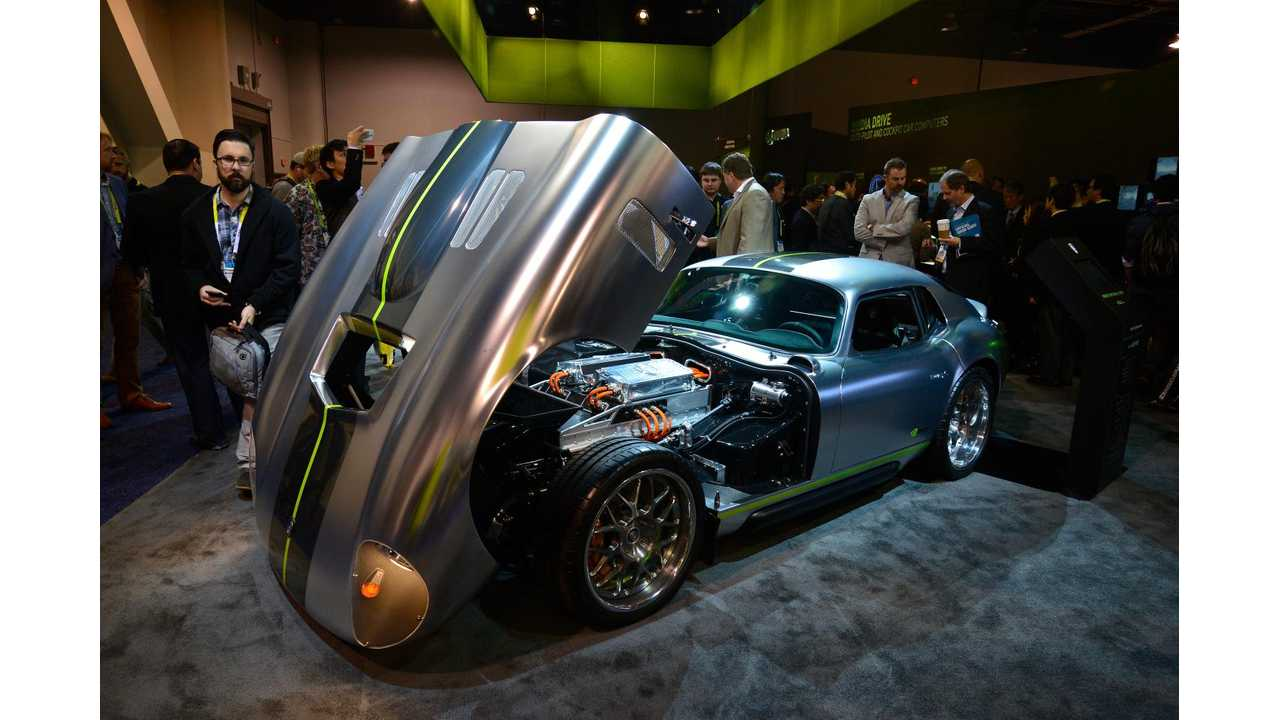 Renovo Coupe At The 2015 CES