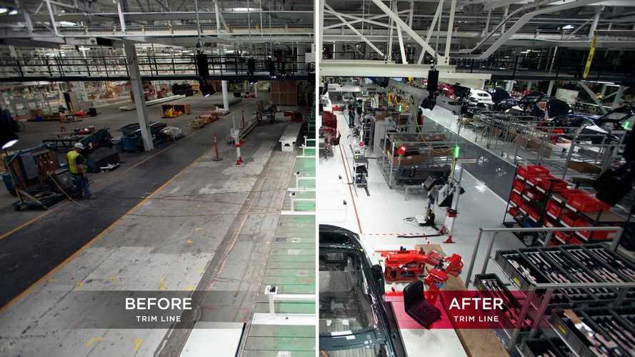 Tesla Factory Upgrade - (w/videos)