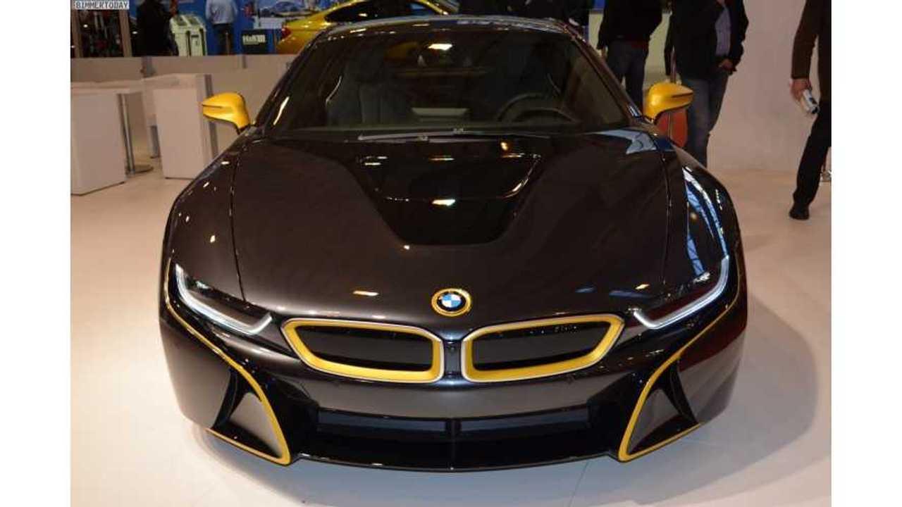 Manhart-Tweaked BMW i8 At 2014 Essen Motor Show
