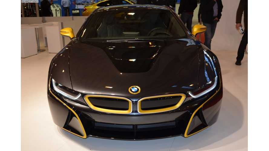 Manhart-Tweaked BMW i8 At 2014 Essen Motor Show