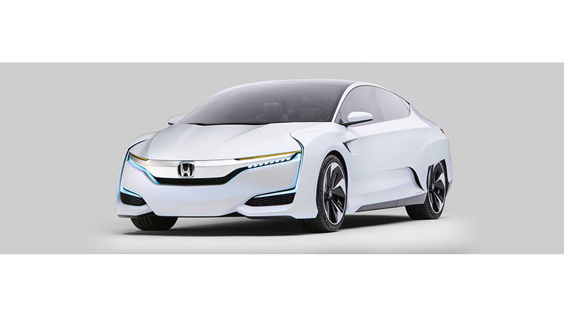 Honda Announces Upcoming All Electric And Phev Model While Debuting Fcv Concept