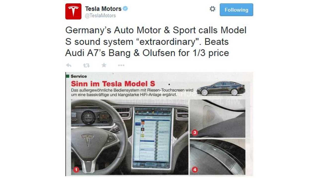 Tesla Model S Ultra High Fidelity Sound System Gets