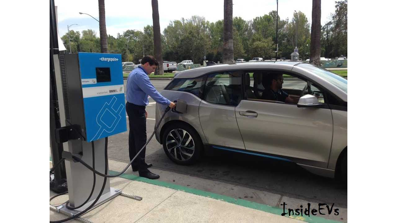 We Caught Robert Healey, BMW's EV Infrastructure Manager Doing